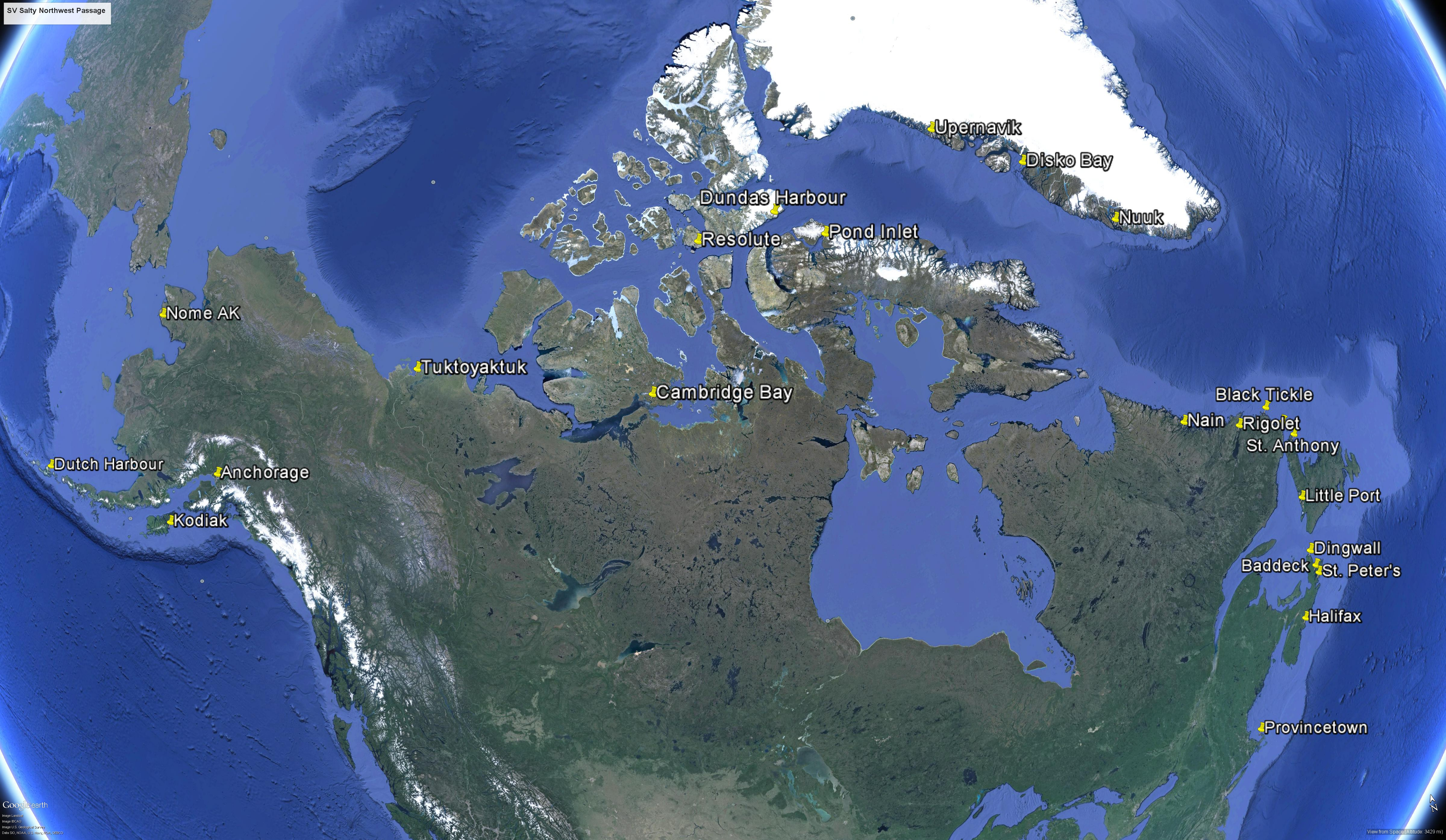 Northwest Passage 2015 details