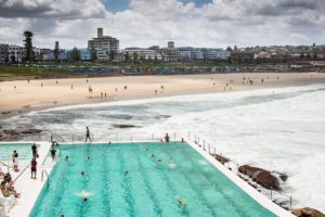 bondibeach was packed the day before this shot but ithellip